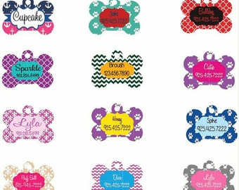 Personalized Pet ID Tags