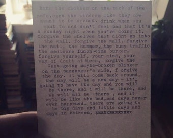 micro typed story