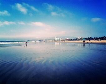 A Walk on Santa Monica Beach
