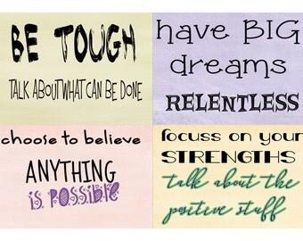 BE TOUGH