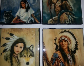 Native American Coasters
