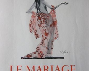 Le Mariage De Loti Illustrations De J G Domergue by Loti Pierre - French Language Book