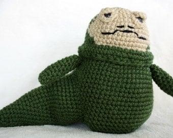 Jabba The Hutt Star Wars Amigurumi Crochet Doll