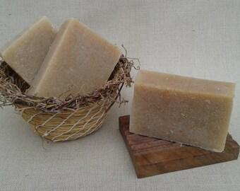 Scottish Honey and Oatmeal Handmade Soap