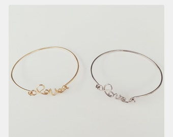 The love bangle