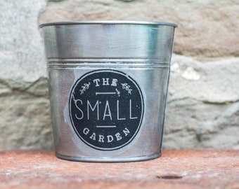 """THE SMALL GARDEN"" planter"