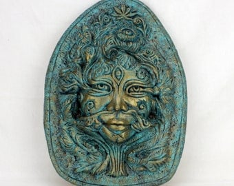 Green Ma - Green Woman - Limited Edition, Signed by Artist