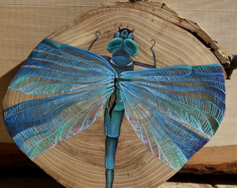 Dragonfly Animal Totem Painting