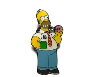 Rare Homer Simpson Lapel Pin