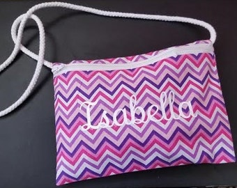 Personalized Girl's Purse or Wristlet