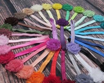Baby Headband Lot of 15 - Infant Headband - Baby Hair Bows - YOU CHOOSE COLORS - Girls - Toddler - Spring Birthday - Newborn Headbands- Gift