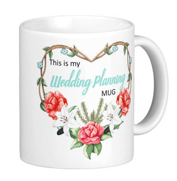 Wedding Planning Gift Set : is my wedding planning mug , wedding planning gift, wedding planning ...