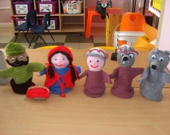 Little Red Riding Hood Glove Puppet Pattern