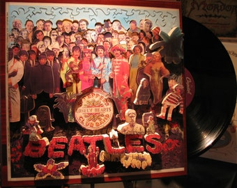 The Beatles, Sgt. Pepper's Lonely Hearts Club Band, 'Life Puzzle' #3D #Custom #Wood #Hand Crafted #Bespoke #Personalized #Three Dimensional