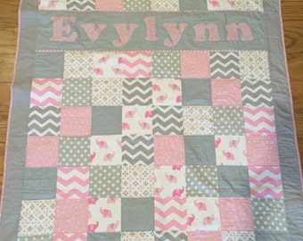 Custom quilts, baby quilts