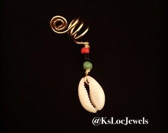 Pan-African Beaded Loc Jewel