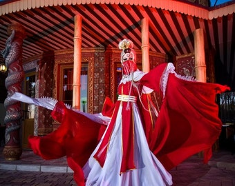 Chinese puppet cosplay costume