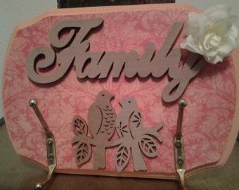 Family key hook