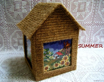 The Cottage of Four Seasons/Cross Stitch Four Seasons