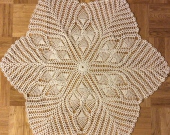 Crochet Doily 29 inches