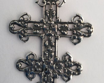 Sterling Cross of Lorraine