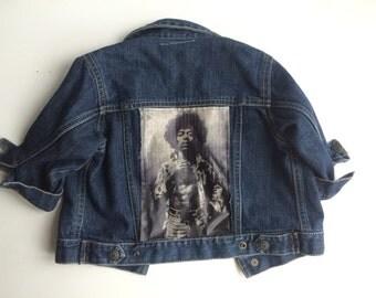 GIG DENIM JACKET - customised rock band denim jacket. 6 - 18 months
