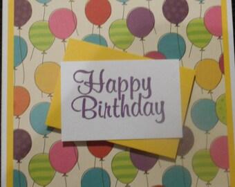 Birthday Balloons - Kids