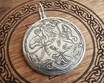 Pendant with Dog's Triskele