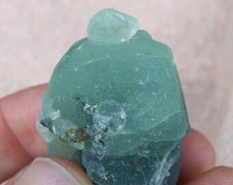 Light green Prehnite Botryoidal Crystal | Healing Crystal | Mineral Specimen #8