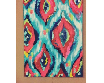Abstract Printed Painting