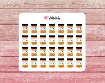 Prescription Reminder Planner Stickers
