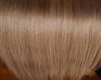 Human Hair Remy extensions,Straight Clip In Remy Hair Extensions,Blonde hair, Clip-in Hair Extensions Remy human hair