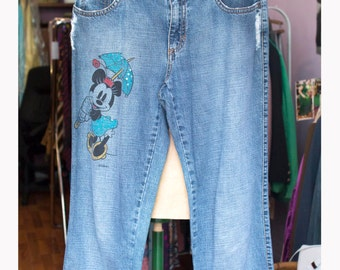 """Jeans """"Liu Jo"""" Disney Minnie Jeans Rhinestones-small"""