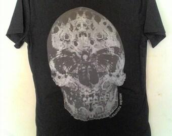 Authentic Alexander McQueen skull t shirt