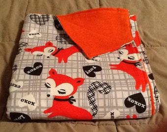 Handmade flannel pet blanket