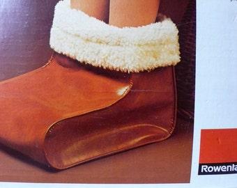 Electric Foot Warmer Rowenta Germany 70s