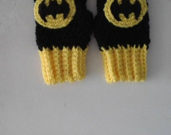 Childs Batman Fingerless Glove