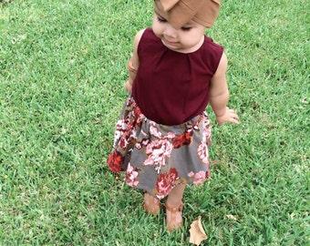 SALE Brown Headwrap, caramel headwrap, headwrap, head wrap, toddler headwrap, baby headwrap