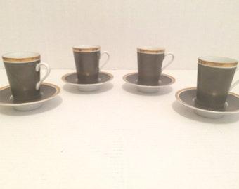 F f espresso cup set