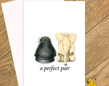 A Perfect Pair Greetings Card, Wedding Cards, Engagement Card, Wedding Card, Love, Congratulations on your Engagement, Perfect Couple
