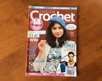 Inside Crochet March Issue 15