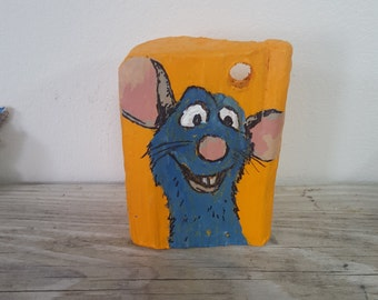 Driftwood Art - A Happy Mouse