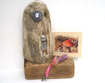 Fairy Doors Magic Fairy Door Garden Fairies Wood Fairy Door Wooden Fairy Door Mini Wood Door Fairy Kit Elf Door Garden Kit Fairy Accessories