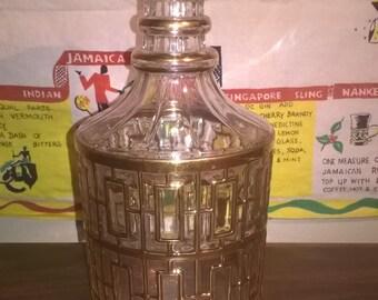 IMPERIAL Glass SHOJI Gold Decanter