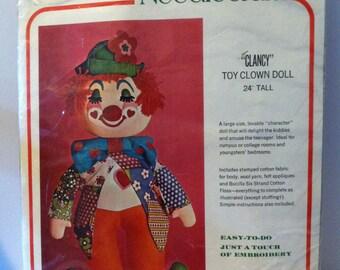 Bucilla CLANCY Toy Clown Kit