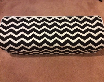 Cricut Maker and Cricut Explore/ Air/ Air 2/ One Custom Handmade Dust Cover Black and White Chevron with (choose color) Piping
