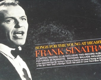 Frank Sinatra vinyl record album, Songs For The Young At Heart vintage vinyl record