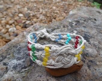 Beaded Josephine Knot Bracelet