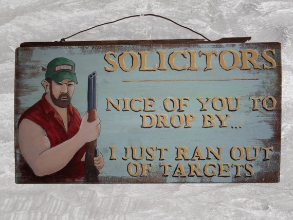 Rustic Sign- Solicitors