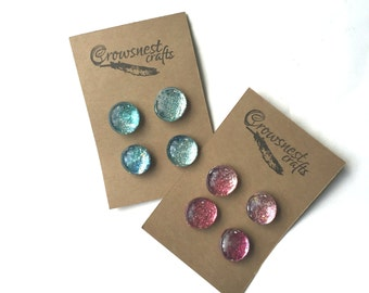 Gift Ideas for Her / Glitter Fridge Magnets / Kids Refrigerator Magnet / Locker Decoration / Back to School Supplies